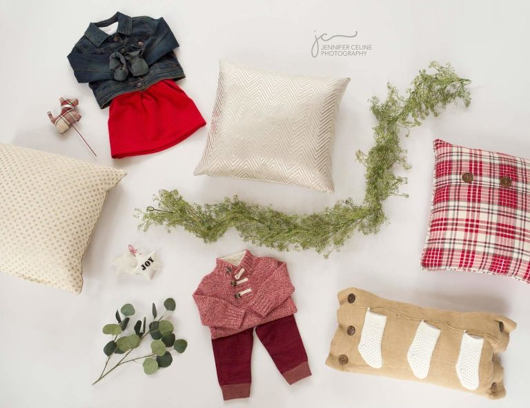 Jennifer Celine Photography holiday mini photography sessions 2017 modern sweet cozy inspiration
