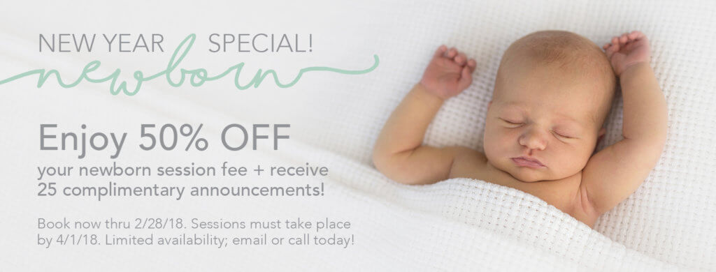 Jennifer Celine Photography new year newborn photography special
